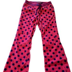 || MINI BODEN || 10 Year Pink Courduroy Heart Pant